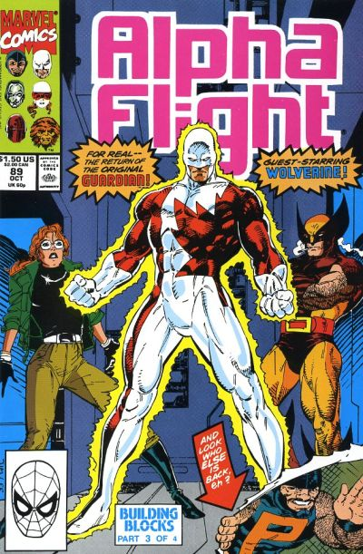 Cover for Alpha Flight (Marvel, 1983 series) #89