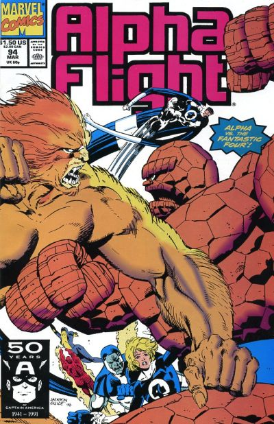 Cover for Alpha Flight (Marvel, 1983 series) #94