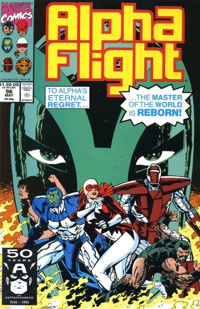 Cover for Alpha Flight (Marvel, 1983 series) #96