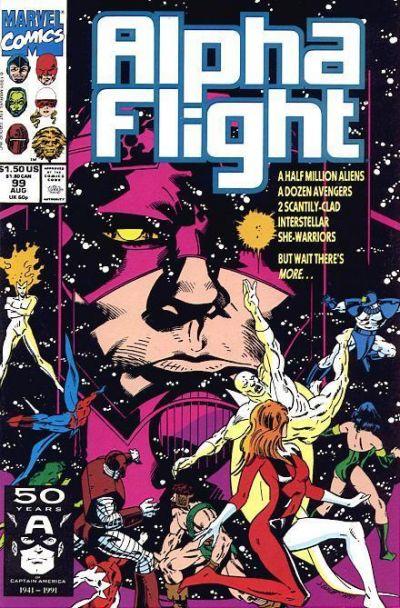 Cover for Alpha Flight (Marvel, 1983 series) #99