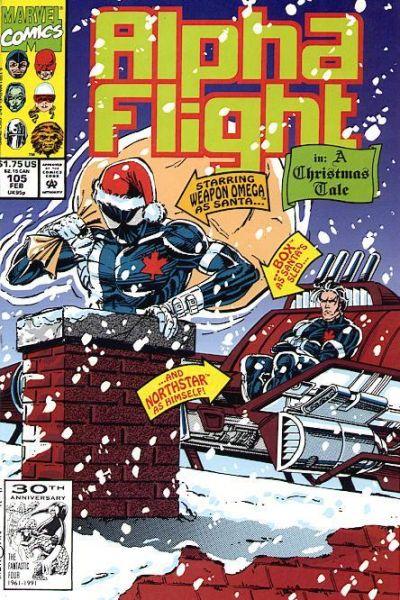 Cover for Alpha Flight (Marvel, 1983 series) #105