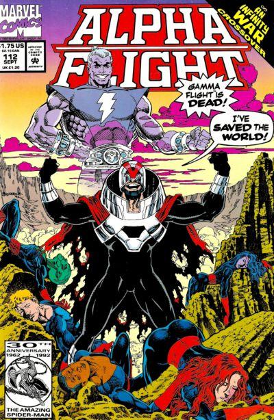 Cover for Alpha Flight (Marvel, 1983 series) #112
