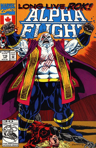 Cover for Alpha Flight (Marvel, 1983 series) #116 [Direct Edition]