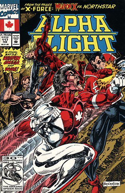 Cover for Alpha Flight (Marvel, 1983 series) #117