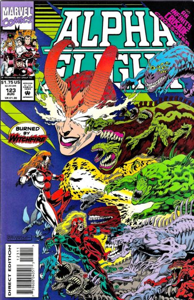 Cover for Alpha Flight (Marvel, 1983 series) #123