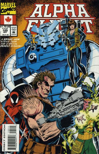 Cover for Alpha Flight (Marvel, 1983 series) #125