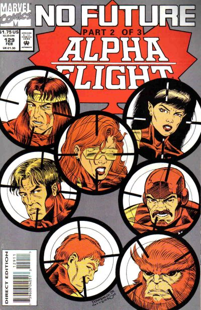Cover for Alpha Flight (Marvel, 1983 series) #129