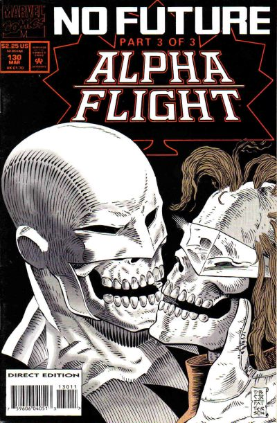 Cover for Alpha Flight (Marvel, 1983 series) #130