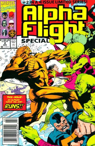 Cover for Alpha Flight (Marvel, 1983 series) #98
