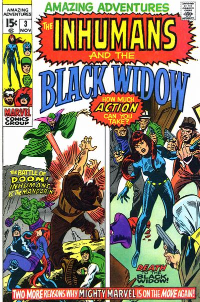Cover for Amazing Adventures (Marvel, 1970 series) #3