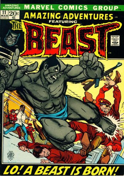 Cover for Amazing Adventures (Marvel, 1970 series) #11