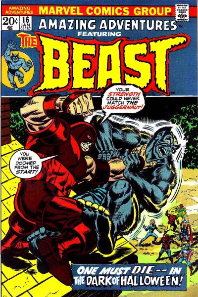 Cover for Amazing Adventures (Marvel, 1970 series) #16