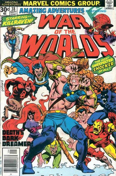 Cover for Amazing Adventures (Marvel, 1970 series) #38