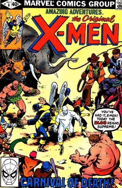 Cover for Amazing Adventures (Marvel, 1979 series) #6
