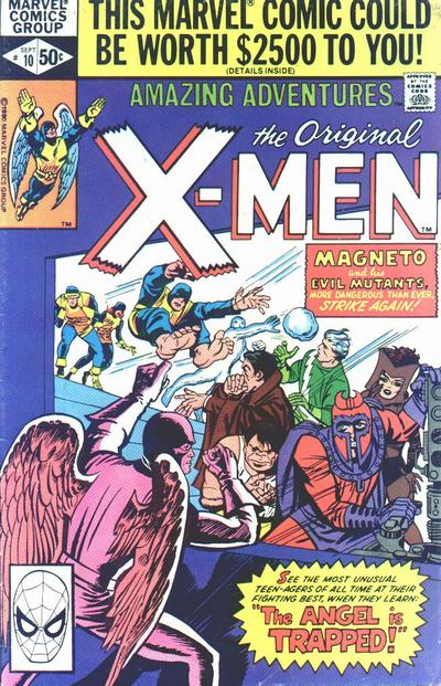 Cover for Amazing Adventures (Marvel, 1979 series) #10