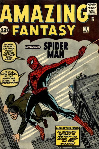 Cover for Amazing Fantasy (Marvel, 1962 series) #15 [Regular]
