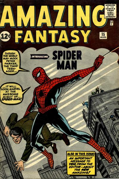 Cover for Amazing Fantasy (Marvel, 1962 series) #15 [Regular Edition]