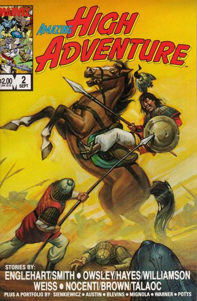 Cover for Amazing High Adventure (Marvel, 1984 series) #2