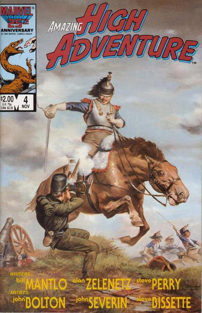 Cover for Amazing High Adventure (Marvel, 1984 series) #4