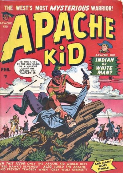 Cover for Apache Kid (Marvel, 1950 series) #2