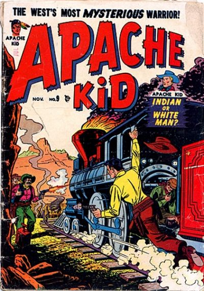 Cover for Apache Kid (Marvel, 1950 series) #9