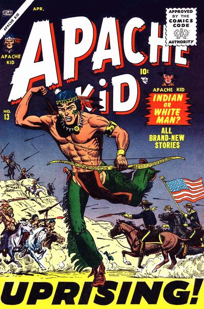 Cover for Apache Kid (Marvel, 1950 series) #13