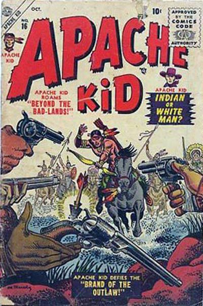 Cover for Apache Kid (Marvel, 1950 series) #16