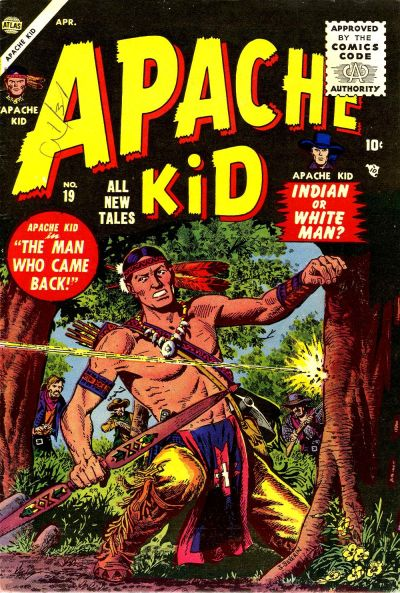 Cover for Apache Kid (Marvel, 1950 series) #19