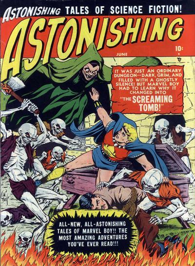 Cover for Astonishing (Marvel, 1951 series) #4
