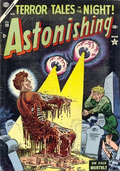 Cover for Astonishing (Marvel, 1951 series) #30