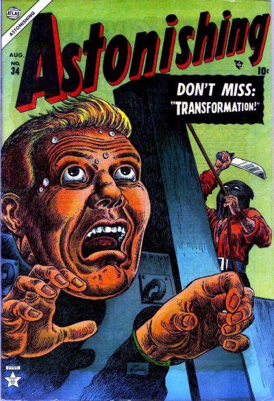 Cover for Astonishing (Marvel, 1951 series) #34