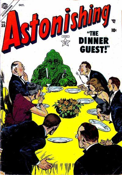 Cover for Astonishing (Marvel, 1951 series) #35