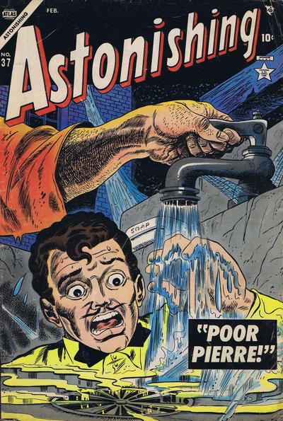 Cover for Astonishing (Marvel, 1951 series) #37