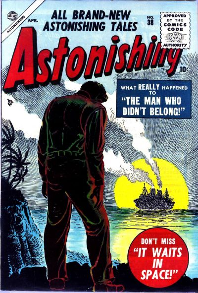 Cover for Astonishing (Marvel, 1951 series) #38
