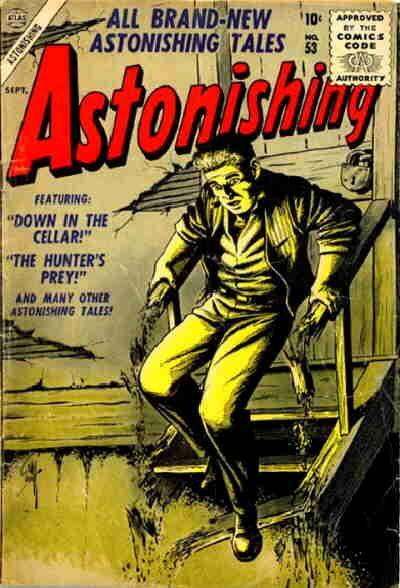 Cover for Astonishing (Marvel, 1951 series) #53