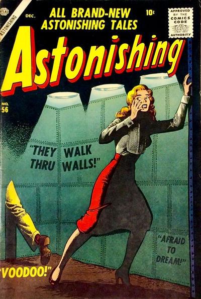 Cover for Astonishing (Marvel, 1951 series) #56