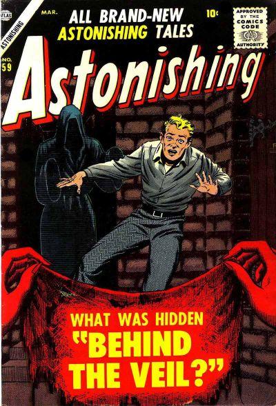 Cover for Astonishing (Marvel, 1951 series) #59