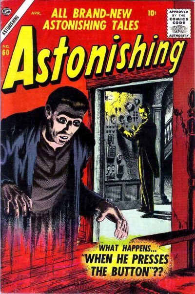 Cover for Astonishing (Marvel, 1951 series) #60