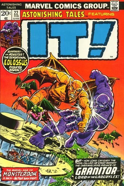 Cover for Astonishing Tales (Marvel, 1970 series) #22 [Regular Edition]