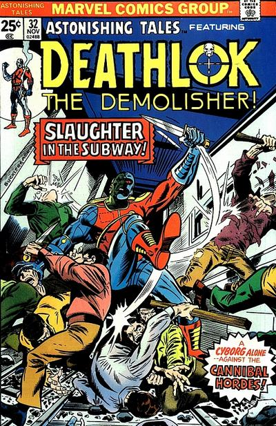 Cover for Astonishing Tales (Marvel, 1970 series) #32 [British]