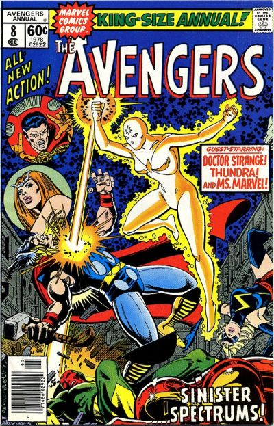 Cover for The Avengers Annual (Marvel, 1967 series) #8