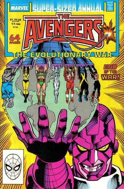 Cover for The Avengers Annual (Marvel, 1967 series) #17 [Direct Edition]