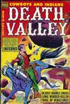 Cover for Death Valley (Comic Media, 1953 series) #1