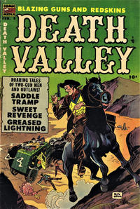 Cover Thumbnail for Death Valley (Comic Media, 1953 series) #3