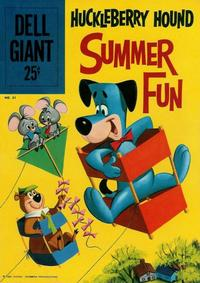 Cover Thumbnail for Dell Giant (Dell, 1959 series) #31 - Huckleberry Hound Summer Fun