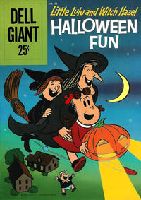 Cover Thumbnail for Dell Giant (Dell, 1959 series) #36 - Marge's Little Lulu and Witch Hazel Halloween Fun