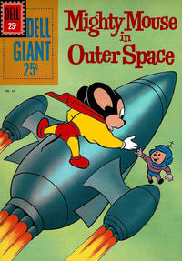 Cover Thumbnail for Dell Giant (Dell, 1959 series) #43 - Mighty Mouse in Outer Space