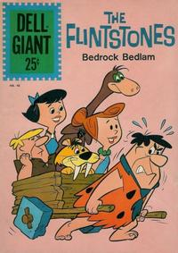 Cover Thumbnail for Dell Giant (Dell, 1959 series) #48 - The Flintstones Bedrock Bedlam