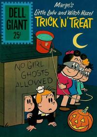 Cover Thumbnail for Dell Giant (Dell, 1959 series) #50 - Marge's Little Lulu and Witch Hazel Trick 'N' Treat