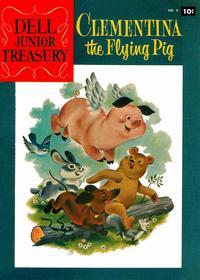 Cover Thumbnail for Dell Junior Treasury (Dell, 1955 series) #9